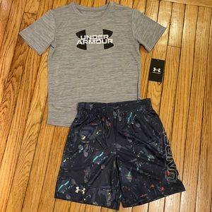 Under Armour boys size 6 matching sets brand new